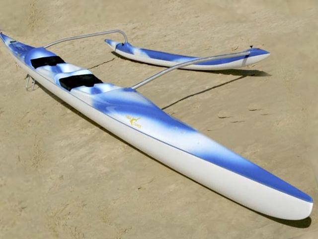 Tiger Canoe OC2 and OC6
